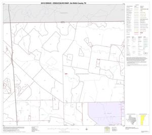 Primary view of object titled '2010 Census County Block Map: Jim Wells County, Block 2'.