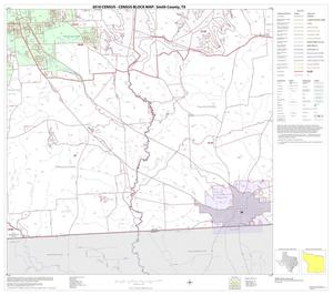 Primary view of object titled '2010 Census County Block Map: Smith County, Block 21'.