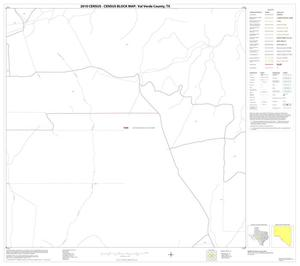 Primary view of object titled '2010 Census County Block Map: Val Verde County, Block 22'.