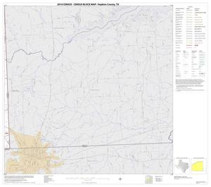 Primary view of object titled '2010 Census County Block Map: Hopkins County, Block 17'.