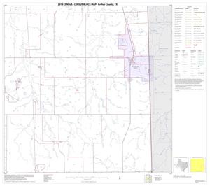 Primary view of object titled '2010 Census County Block Map: Archer County, Block 12'.