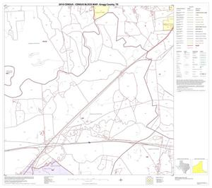 Primary view of object titled '2010 Census County Block Map: Gregg County, Block 13'.