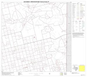 Primary view of object titled '2010 Census County Block Map: Dawson County, Block 6'.