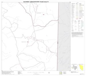 Primary view of object titled '2010 Census County Block Map: Presidio County, Block 57'.