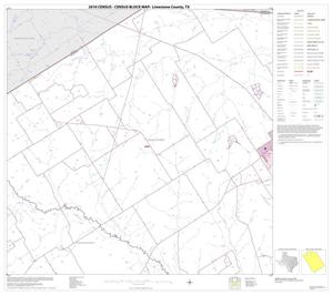 Primary view of object titled '2010 Census County Block Map: Limestone County, Block 3'.
