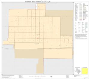 Primary view of object titled '2010 Census County Block Map: Crosby County, Inset A01'.