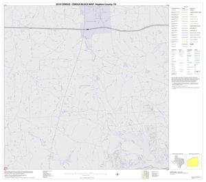 Primary view of object titled '2010 Census County Block Map: Hopkins County, Block 12'.