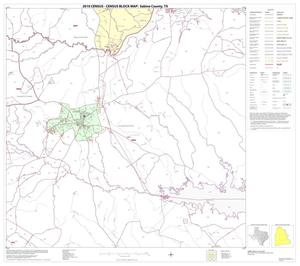 Primary view of object titled '2010 Census County Block Map: Sabine County, Block 7'.