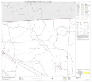 Primary view of object titled '2010 Census County Block Map: Marion County, Block 3'.