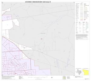 Primary view of object titled '2010 Census County Block Map: Smith County, Inset B05'.