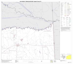 Primary view of object titled '2010 Census County Block Map: Hopkins County, Block 3'.