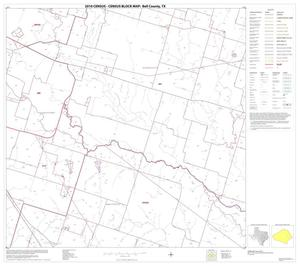 Primary view of object titled '2010 Census County Block Map: Bell County, Block 17'.