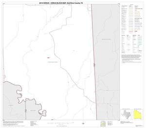 Primary view of object titled '2010 Census County Block Map: Red River County, Block 37'.