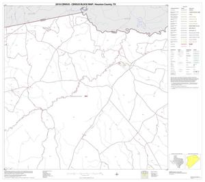 Primary view of object titled '2010 Census County Block Map: Houston County, Block 4'.