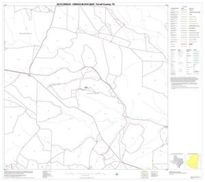 Primary view of object titled '2010 Census County Block Map: Terrell County, Block 15'.