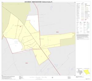 Primary view of object titled '2010 Census County Block Map: Anderson County, Inset E01'.