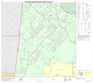 Primary view of object titled '2010 Census County Block Map: Galveston County, Block 11'.