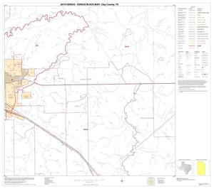 Primary view of object titled '2010 Census County Block Map: Clay County, Block 14'.