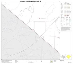 Primary view of object titled '2010 Census County Block Map: Pecos County, Block 68'.