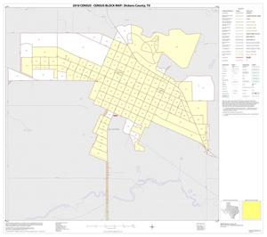 Primary view of object titled '2010 Census County Block Map: Dickens County, Inset B01'.
