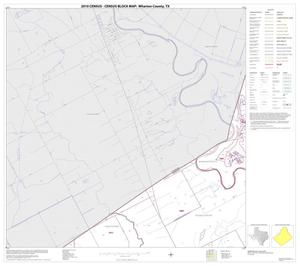Primary view of object titled '2010 Census County Block Map: Wharton County, Block 7'.