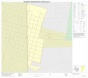 Primary view of object titled '2010 Census County Block Map: Jim Wells County, Inset C01'.