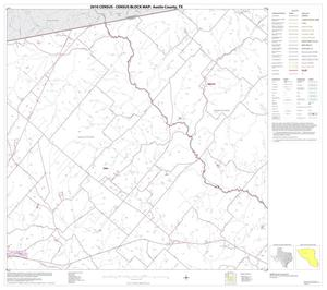 Primary view of object titled '2010 Census County Block Map: Austin County, Block 4'.
