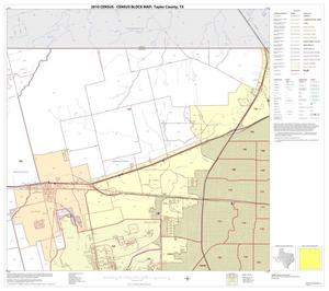 Primary view of object titled '2010 Census County Block Map: Taylor County, Block 3'.