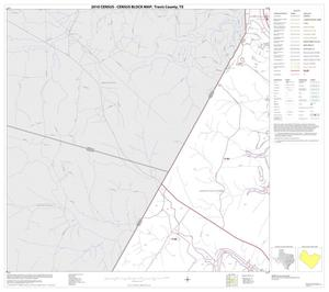 Primary view of object titled '2010 Census County Block Map: Travis County, Block 12'.