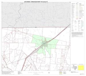 Primary view of object titled '2010 Census County Block Map: Frio County, Block 3'.
