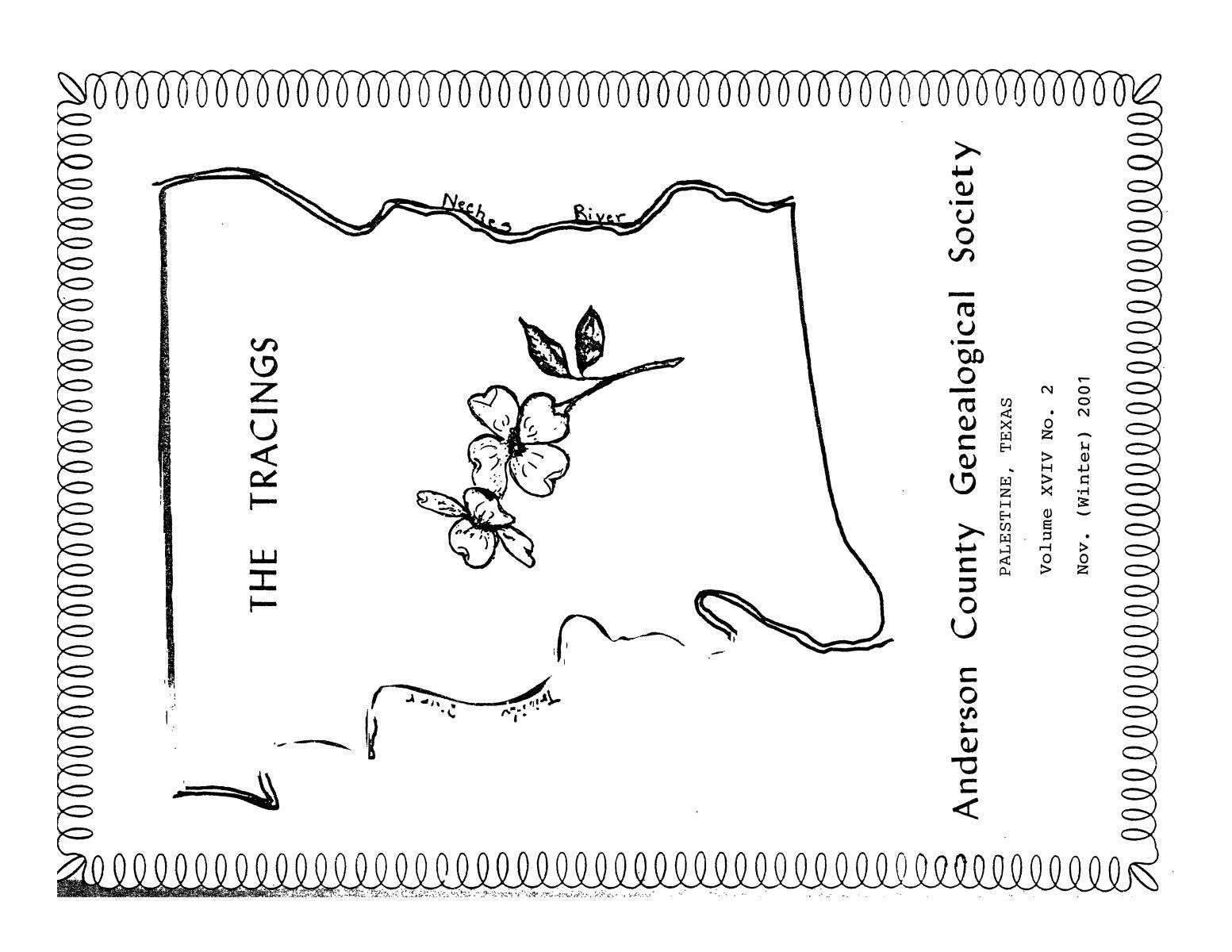 The Tracings, Volume 19, Number 02, November 2001                                                                                                      Front Cover