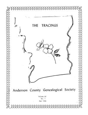 The Tracings, Volume 15, Number 01, March 1996