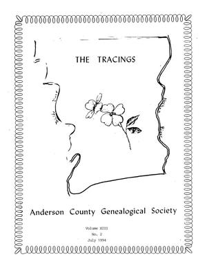 The Tracings, Volume 13, Number 02, July 1994