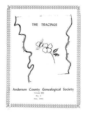 The Tracings, Volume 12, Number 01, February 1993