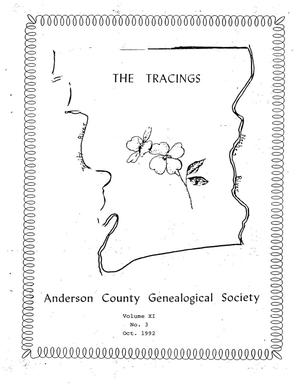 The Tracings, Volume 11, Number 03, October 1992