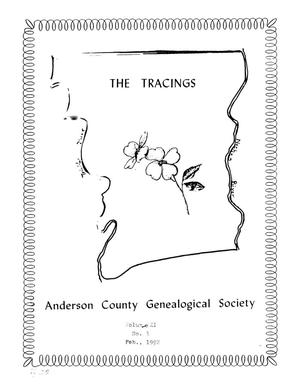 The Tracings, Volume 11, Number 01, February 1992