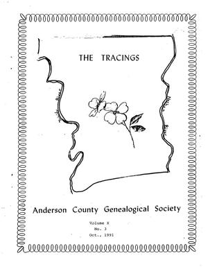 Primary view of object titled 'The Tracings, Volume 10, Number 03, October 1991'.