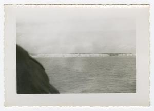 Primary view of object titled '[Photograph of a Beach]'.