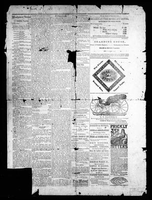 Primary view of object titled 'The Montgomery Journal. (Montgomery, Tex.), Ed. 1 Friday, June 10, 1881'.