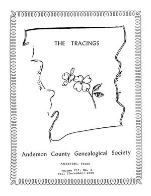 The Tracings, Volume 07, Number 02, Fall 1988