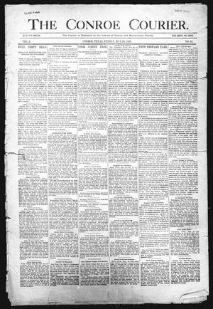 Primary view of object titled 'The Conroe Courier. (Conroe, Tex.), Vol. 2, No. 34, Ed. 1 Friday, May 29, 1896'.