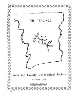 The Tracings, Volume 07, Number 01, Spring 1988