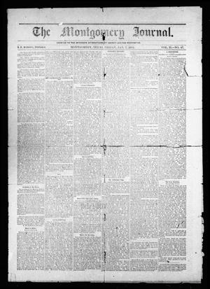The Montgomery Journal. (Montgomery, Tex.), Vol. 2, No. 47, Ed. 1 Friday, January 7, 1881