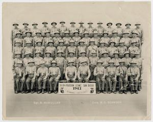 Primary view of object titled '[318th Platoon, U. S. M. C.]'.