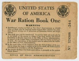 [War Ration Book One: William Hughes, Jr.]