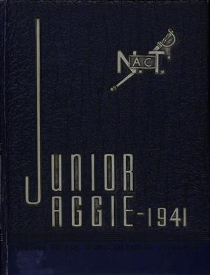Primary view of object titled 'The Junior Aggie, Yearbook of North Texas Agricultural College, 1941'.