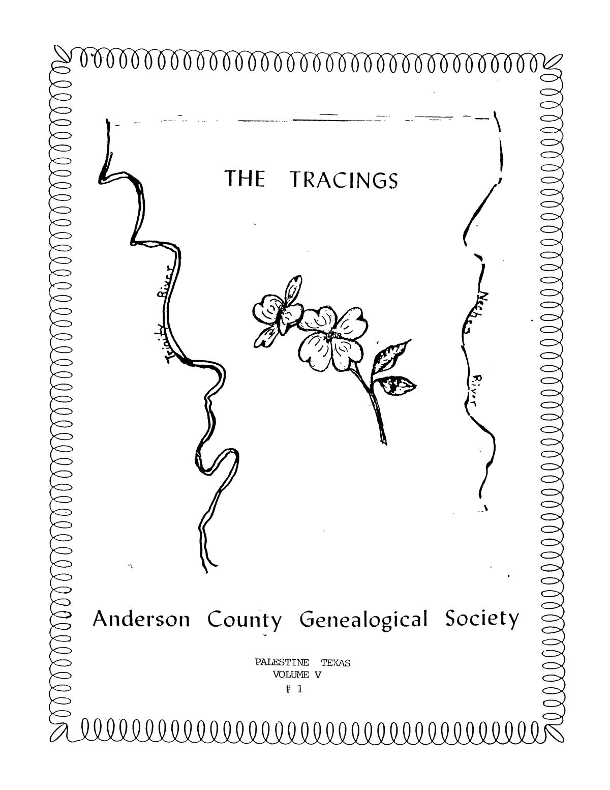 The Tracings, Volume 05, Number 01, Winter 1986                                                                                                      Front Cover