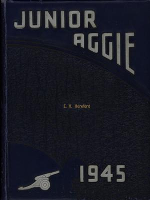 The Junior Aggie, Yearbook of North Texas Agricultural College, 1945
