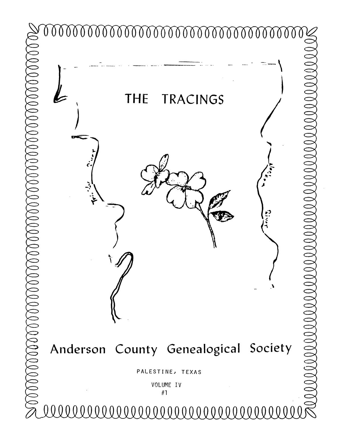 The Tracings, Volume 04, Number 01, Winter 1985                                                                                                      Front Cover