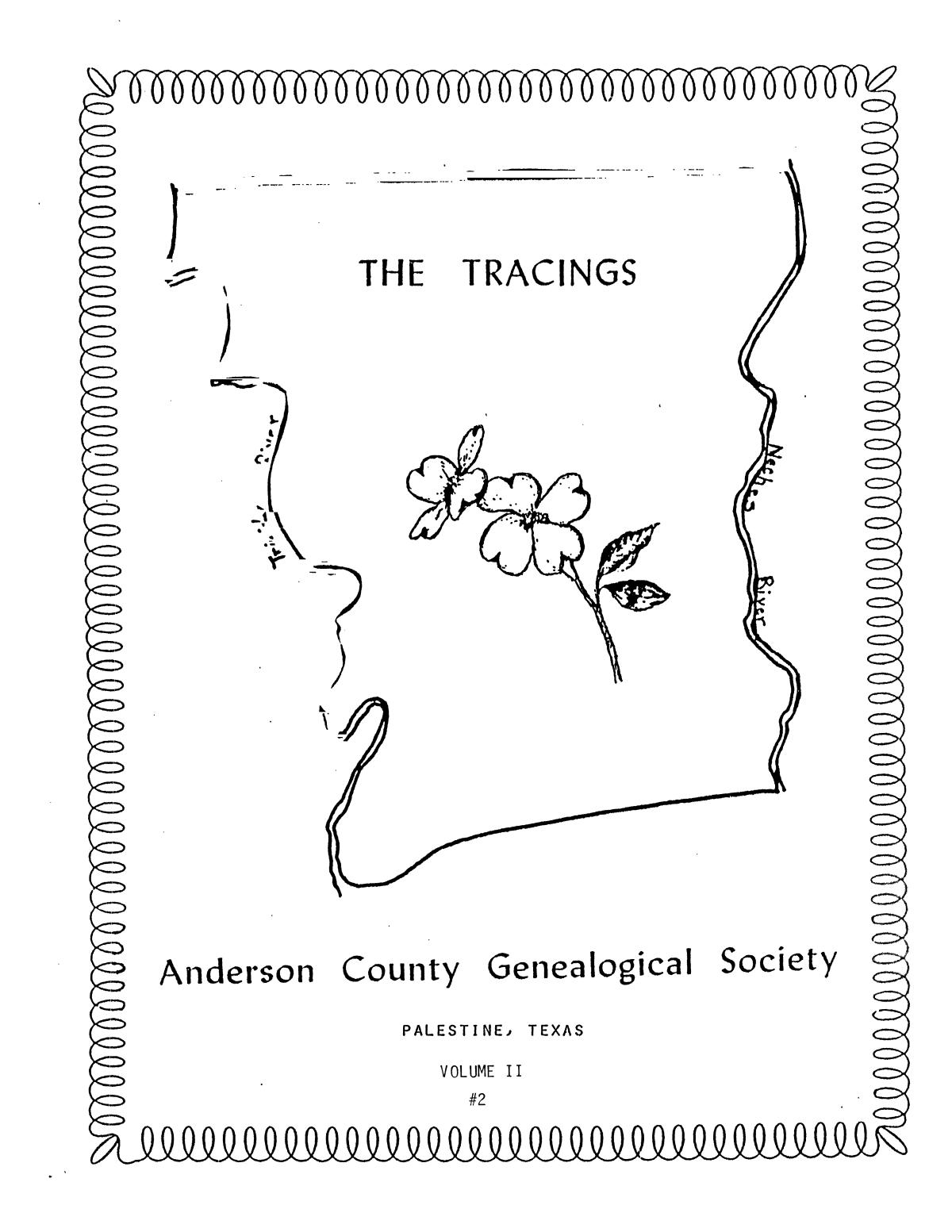 The Tracings, Volume 02, Number 02, Fall 1983                                                                                                      Front Cover